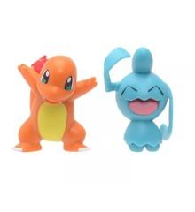 Pokemon - Battle Figures - Charmander & Wynaut (PKW0134)