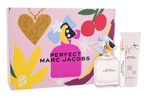 Marc Jacobs - Perfect EDP 100 ml + EDP 10 ml - Body Lotion 75 ml - Giftset