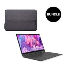 "Lenovo - IdeaPad Flex 5 14ALC05 14"" FHD Touch Ryzen 5 8GB 256GB + Laptop Urban Sleeve Case 14"" - Bundle"