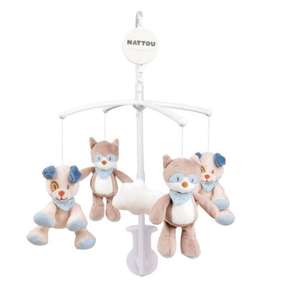 Nattou - Hanging Mobile - Jim & Bob