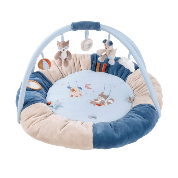 Nattou - Round Baby Activity Play Mat - Jim & Bob