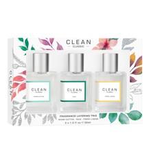 Clean - Layeing Trio Warm Cotton, Fresh Lines & Rain 3x30 ml