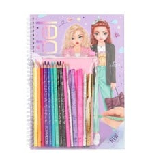 Top Model - Colouring Book With Pen Set (0411485)
