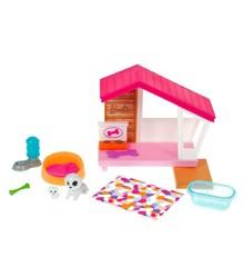 Barbie - Mini Dog House w/Pets Playset (GRG78)