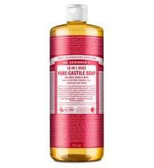Dr. Bronner's - Pure Castile Liquid Soap Rose 945 ml