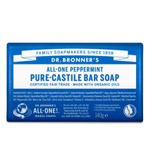 Dr. Bronner's - Bar Soap Peppermint 140 g