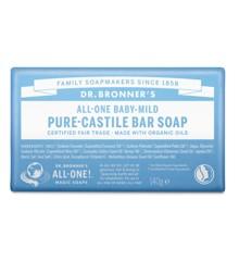 Dr. Bronner's - Bar Soap Baby Mild 140 g