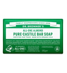 Dr. Bronner's - Bar Soap Almond 140 g