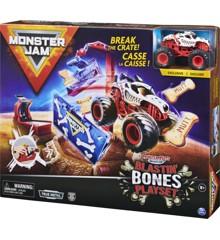 Monster Jam - Monster Mutt Blastin' Bones Playset