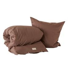 OYOY Living - Nuku Ekologiska sängkläder - 140 x 200 - Choko
