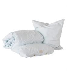 OYOY Living - Nuku Ekologiska sängkläder - 140 x 200 - Ice Blue