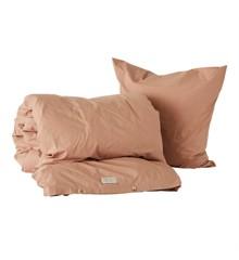 OYOY Living - Nuku Organic Bedding - 140 x 200 - Dark Powder