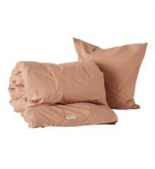 OYOY Living - Nuku Organic Bedding - 140 x 220 - Dark Powder