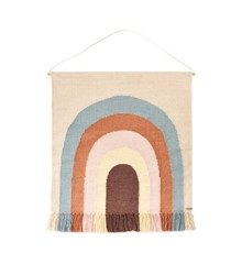 OYOY Mini - Follow The Rainbow Wall Rug - Multi