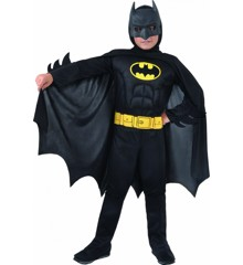 Ciao - Kostume m/Muskler - Batman (3-4 år)
