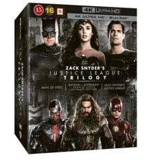 Zack Snyder's Justice League Trilogy (4K Ultra HD + Blu-ray) (8 disc)