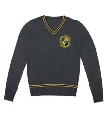 Harry Potter - Hufflepuff - Grey Knitted Sweater - Medium