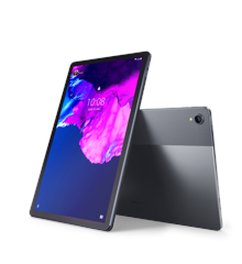 "Lenovo - Tab P11 ZA7S Android 10 - 128 GB - 11"" IPS (2000 x 1200) 4G LTE - Skiffer Grå"