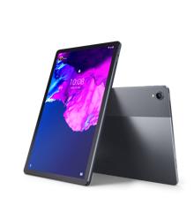 "Lenovo - Tab P11 ZA7S Android 10 128 GB 11"" IPS (2000 x 1200) 4G LTE Slate Grey"