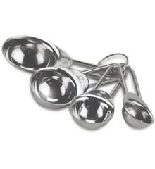 Funktion - Measuring spoon set  4pcs steel
