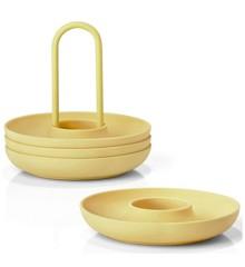 Zone Denmark - Singles Egg Cups With Holder - Lemonade