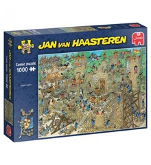Jan Van Haasteren - Castle Conflict - 1000 Piece Puzzle (81914)