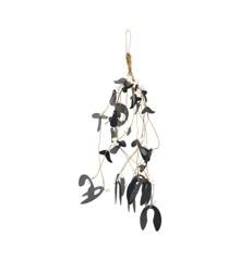 House Doctor -  Ornament Mistletoe - Black (257870203)