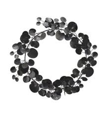 House Doctor - Eucalyptus Wreath - Black (257870050)