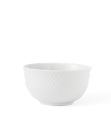 Lyngby Porcelæn - Rhombe Schüssel 13 cm - Weiß