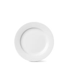 Lyngby Porcelæn - Rhombe Tallerken 23 cm - Hvit