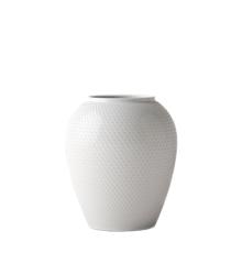 Lyngby Porcelæn - Rhombe Maljakko 25 cm