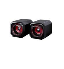 SUREFIRE - Gator Eye Gaming Speakers, Red