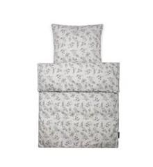 Smallstuff - Bedding - Baby - Grey Flower garden