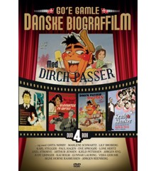 Dirch Passer - Go'e Gamle Danske Biograffilm (4 disc)