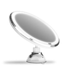 Gillian Jones - Suction Cup Mirror w. Adjustable LED Light, Touch Function & 10x Magnification