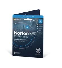 Norton - 360 Til Gamere 50 GB ND 1 bruger 3 enhed 12 måneder