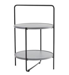 Andersen Furniture - Tray table Ø46 cm - Grey tray (4-159008)