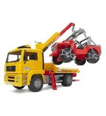 Bruder - Man TGA lastbil med firhjulstrækker