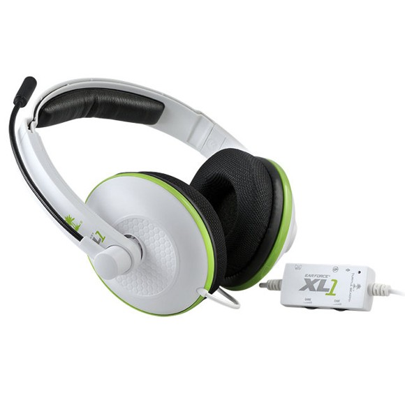 Turtle beach XL1 Xbox 360 Headset White