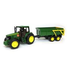 Bruder - John Deere traktor inkl. anhænger (2058)