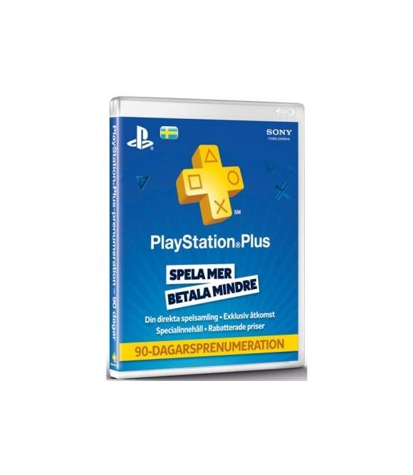 PSN Plus Card 3m Subscription SE (PS3/PS4/PS5/Vita) (Code via email)