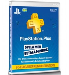 PSN Plus Card 3m Subscription SE (PS3/PS4/Vita) (Code via email)