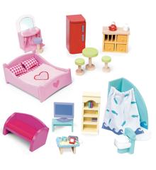 Le Toy Van - Dukkehus - Deluxe Dukkehusmøbel Sæt