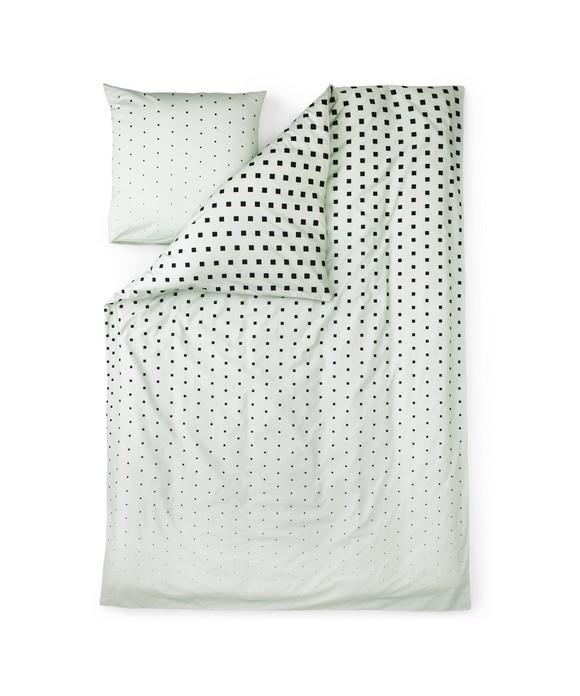 Normann Copenhagen - Cube Bed Linen Mint