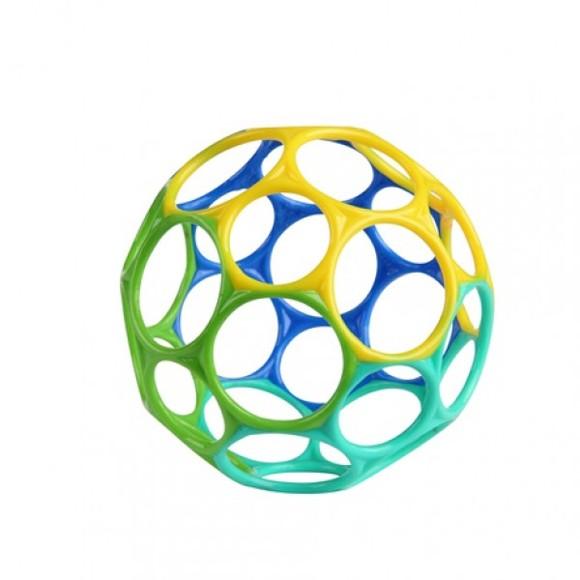 Oball - 10 cm - Blå - Grønn