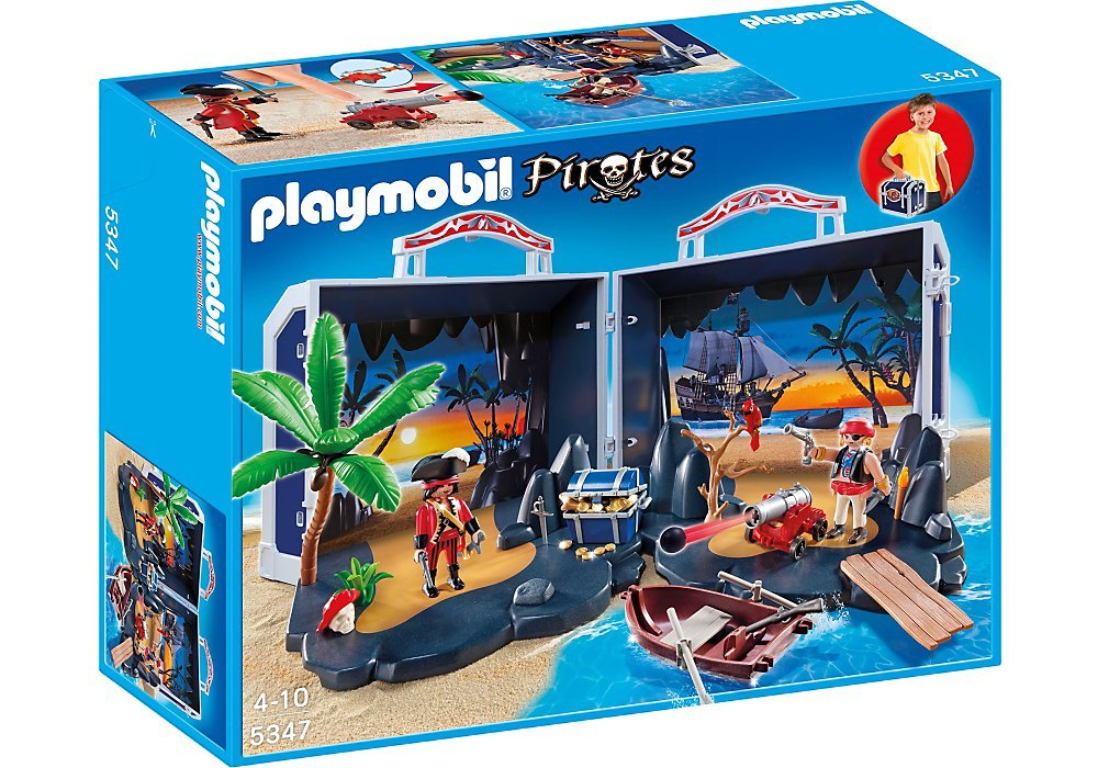 køb playmobil  pirat skattekiste playmobil 5347