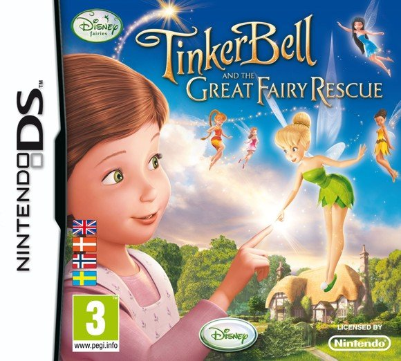 Disney's Fairies - Tinkerbell and the great fairy rescue (Nordic)
