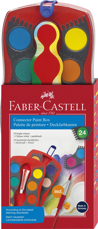 Faber-Castell - Anslutnings akvareller - 24 st (125029)