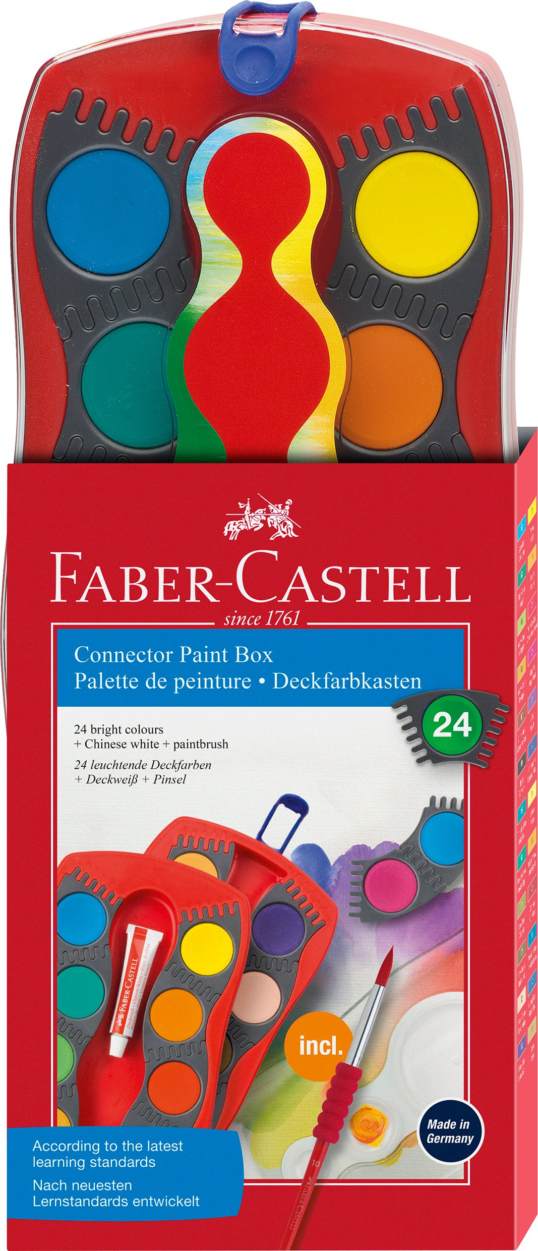 Faber-Castell - Connector Paint Box - 24 ct (125029)