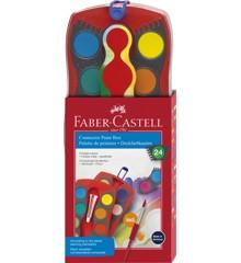 Faber-Castell - vatnslitamyndatengi - 24 stk (125029)